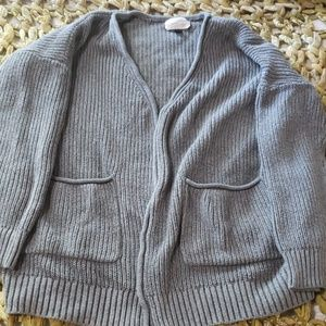 Chunky Gray Cardigan by Universal Thread (XS)